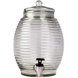 Libbey Beehive Dispenser w/Lid 2.9 gal