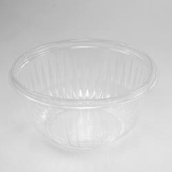 Dart PresentaBowls Clear Bowls, Plastic, 16 oz, 63/Bag, 504/Carton