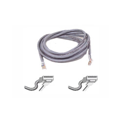 Belkin Patch Cable - RJ45 (M) - RJ45 (M) - 7' - (CAT 5E) - Gray