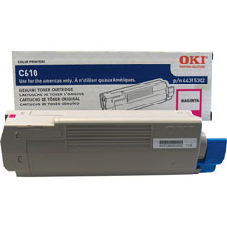 Okidata 44315302 Toner Cartridge - Magenta