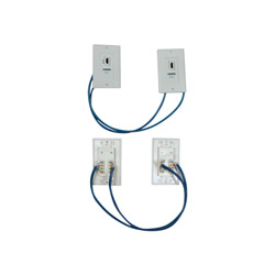 Tripp Lite HDMI Over Cat5/Cat6 Wallplate Extender Kit - Wall Plate