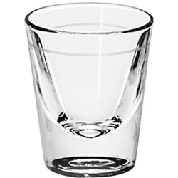 Libbey 5120.10 1 Ounce Lined 1.5 Ounce Whiskey Glass