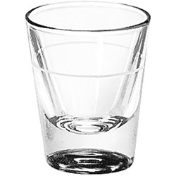 Libbey 5121.78 7/8 Ounce Lined 1 1/4 Ounce Whiskey Glass
