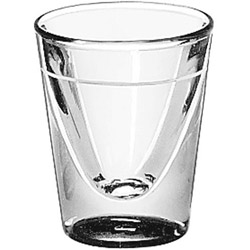 Libbey 5122.58 5/8 Ounce Lined 1 Ounce Whiskey Glass