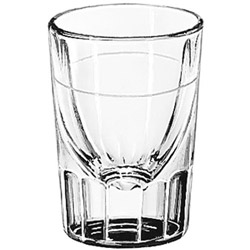 Libbey 5127.78 7/8 Ounce Lined Whiskey Glass