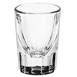 Misc Items 1 1/2 Ounce Plain Whiskey Glass