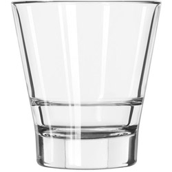 Libbey Endeavor Rocks Glasses, 12 oz, Clear, Double Old Fashioned Glass, 12/Carton