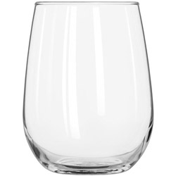 Libbey 17-Oz Stemless White Wine Glass, Case of 12