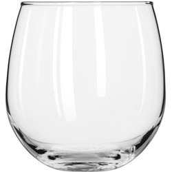 Libbey 16.75-Oz Stemless Red Wine Glass, Case of 12