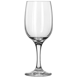 Libbey Embassy 8.75-Oz Wine Glass, Case of 24