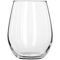 Libbey 11.75-Oz Stemless White Wine Glass, Case of 12