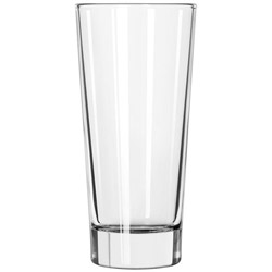 "Libbey élan Glass Tumblers, 14oz, 6 5/8"" Tall"