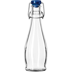 Libbey 12 Ounce Water Bottle with Wire Bail Lid