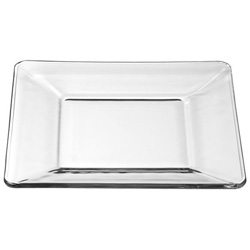 Libbey Tembo Clear Square Plate 6""