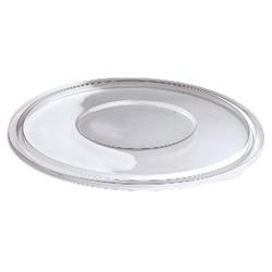 Sabert FreshPack Flat Lid for 48 OZ Bowls, Clear