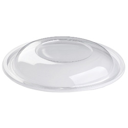 Sabert FreshPack Dome Lid for 32 OZ Round Bowl, Clear