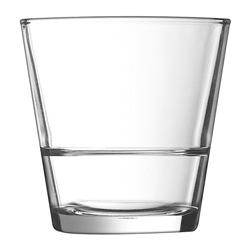 Cardinal International Arcoroc® Stack Up Old Fashioned Glass, 10.5 Oz