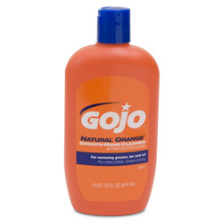 Gojo NATURAL ORANGE™ Smooth Hand Cleaner, 14 Ounces