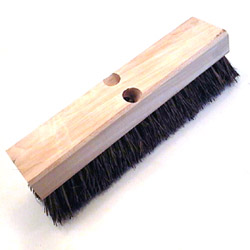 "Zephyr Mfg Wood Deck Scrub Brush 12"" Palmyra"