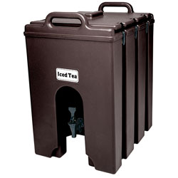 Cambro Camtainer 10Gal Dk Brown