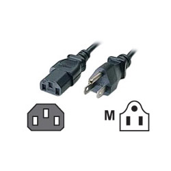 Cables To Go power cable - 10 ft