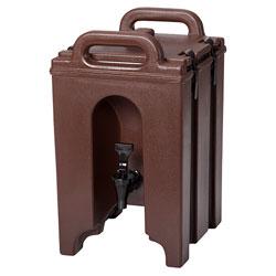 Cambro Camtainer® 1 Gallon Capacity Dark Brown