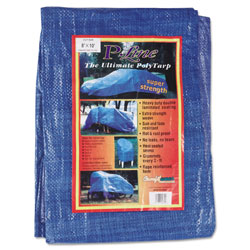 Tarps Multiple Use Tarpaulin, Polyethylene, 8 ft x 10 ft, Blue