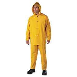 Anchor Rainsuit, PVC/Polyester, Yellow, 3X-Large