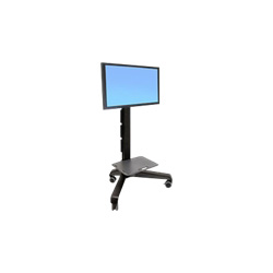 Ergotron Neo-Flex Mobile MediaCenter LD - Cart