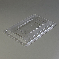 "Carlisle Foodservice Products Clear Food Storage Box Lid, 12"" x 18"""