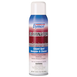 ITW Dymon Eliminator Carpet Spot & Stain Remover, 20oz, Aerosol, 12/Carton
