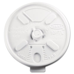 Dart Container Hot or Cold Lid, White