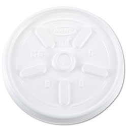 Dart Container 10JL White Vented Lids