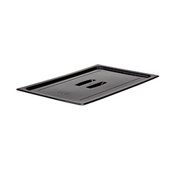 Cambro Food Pan Lid 1/1 Camwear® Cover With Handle Black