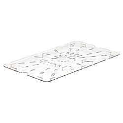 Cambro Food Pan Drain Shelf 1/1 Camwear® Clear
