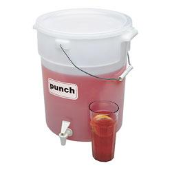 Cambro Beverage Dispenser 6 Gallons White