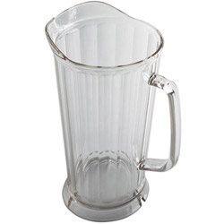 Cambro Clear Camwear Pitcher, 64 Ounce