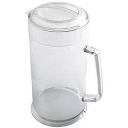 Cambro Camwear Covered Pitcher, 64 Ounce