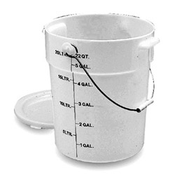 Cambro PWB22148 Pail with Bail, 22 Quart