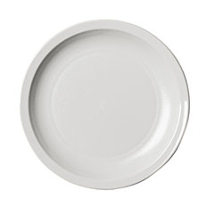 Cambro Dinnerware Plate Narrow Rim 5 1/2 in White