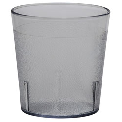 Cambro 9 Oz Plastic Tumblers, Clear, Pack of 72