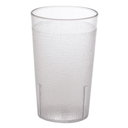 Cambro 9.5 Oz Hot/Cold Plastic Tumblers, Clear, Pack of 48