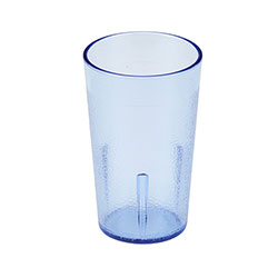 Cambro 9.5 Oz Plastic Tumblers, Blue, Pack of 72