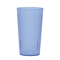 Cambro 12 Oz Plastic Tumblers, Blue, Pack of 72