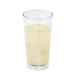 Cambro 22 Oz Plastic Tumblers, Clear, Pack of 36