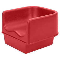 Cambro Hot Red Booster Seat