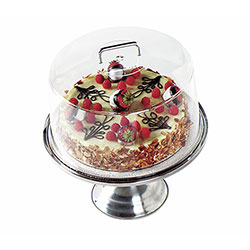 Cambro Display Cake Round Clear