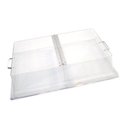 Cambro Clear Hinged Full Cover, 12 x 20