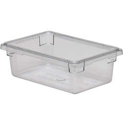 Cambro Food Container, 3 GAL, Clear