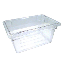Cambro Food Container, 4.75 GAL, Clear